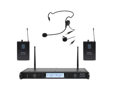 W Audio DTM 600 Twin Beltpack Diversity System