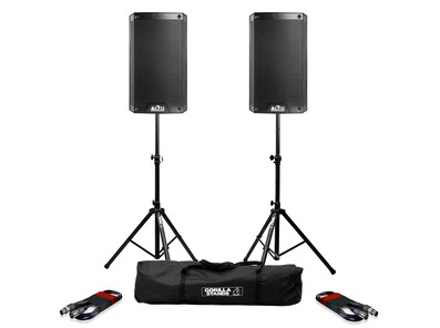 Alto TS308 (Pair) with Stands & Cables