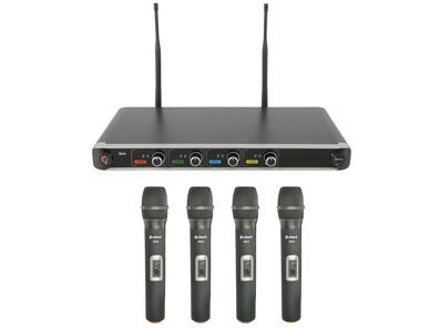 Chord NU4-H Quad UHF Wireless Microphone System