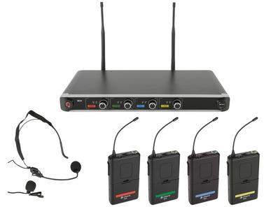 Chord NU4-N Quad UHF Wireless Microphone System
