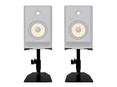 Pair Gorilla GSM-50 Desktop Studio Monitor Stands