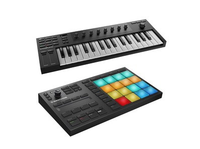 Native Instruments Maschine Mikro MK3 and Komplete Kontrol M32 Bundle