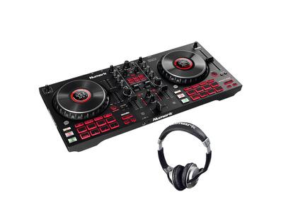 Numark Mixtrack Platinum FX with Headphones Bundle