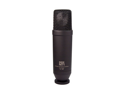 Rode NT1 Cardioid Condenser Microphone Kit