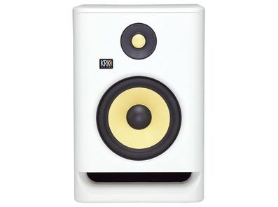 """KRK RP7 G4 7"""" Studio Monitor White Noise"""