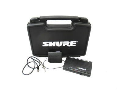 Shure Wireless System - Receiver and Transmitter Pack
