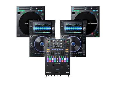 RANE Seventy Mixer + Twelve MKII + Denon SC6000 Package