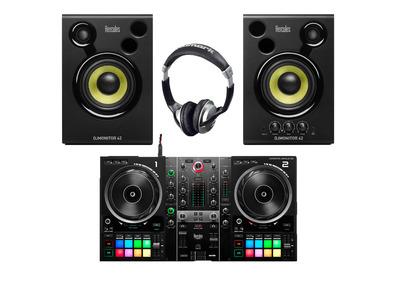 Hercules DJ Inpulse 500 + Monitor 42 with Headphones