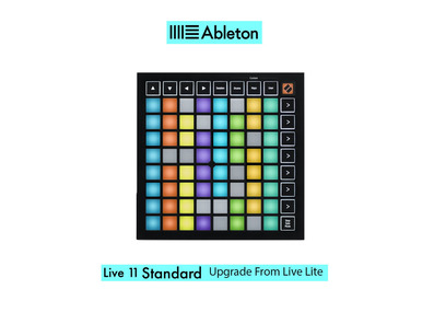 Launchpad Mini MK3 with Live 11 Standard UPG from Live Lite
