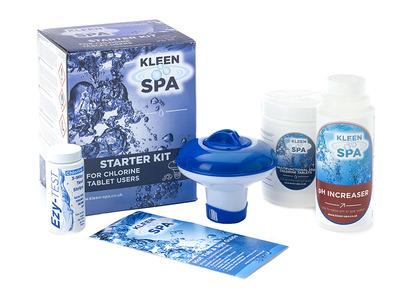 Kleen Spa Chemical Starter Kit inc Floating Dispenser