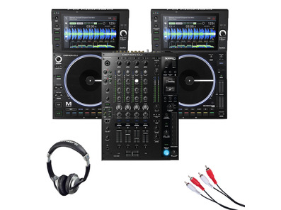 Denon DJ SC6000M Prime Media Player (Pair) + X1850 Prime Mixer