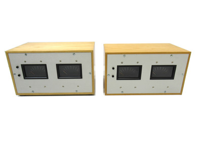 Canford Audio Twin PPM Meters (Pair)