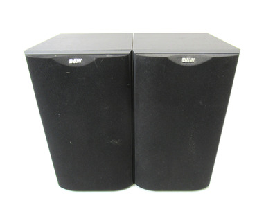 Bowers & Wilkins DM601 S2 Speakers (Black)