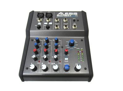 Alesis Multimix 4 USB FX 4-Channel Mixer