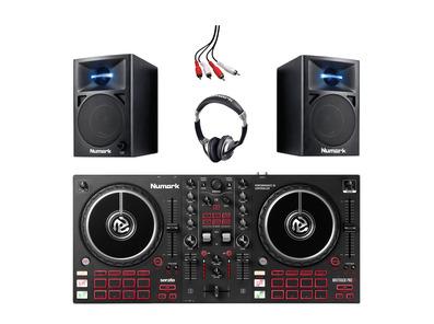 Numark Mixtrack Pro FX with N-Wave 360 Monitors & Headphones
