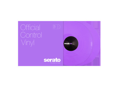 "Serato 12"" Control Vinyl - NEON Series - VIOLET"
