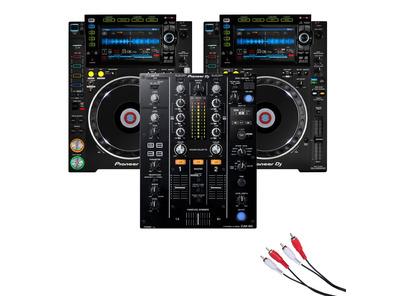 Pioneer CDJ-2000 NXS2 & Pioneer DJM-450 Package