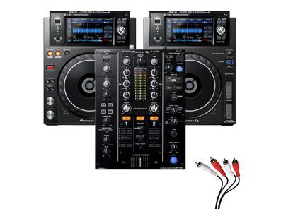 Pioneer DJ XDJ-1000 MK2 & Pioneer DJM-450 Package