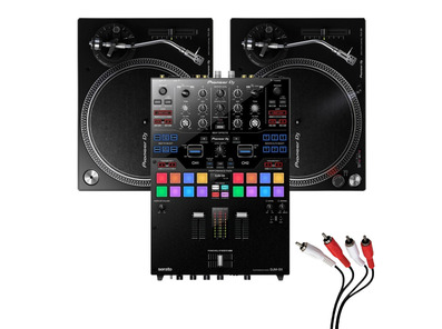 Pioneer PLX-500 & DJM-S9 Turntable Package