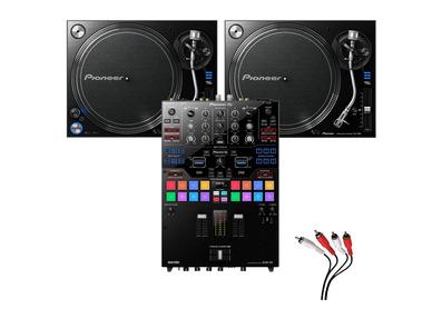 Pioneer PLX-1000 & Pioneer DJM-S9 Mixer Package