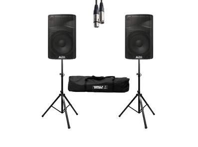 Alto TX312 (Pair) with Stands, Cable & Carry Bag