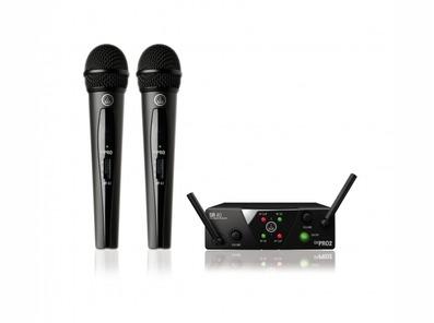 AKG WMS40 Mini Pro 2 Dual Vocal Microphone Set