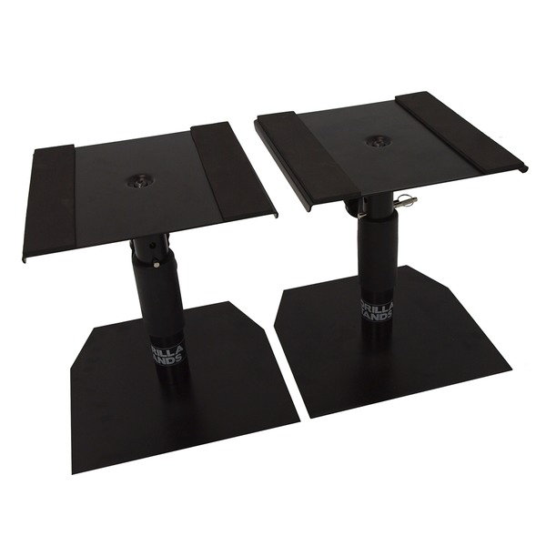Gorilla Gsm 50 Speaker Desktop Studio Monitor Stands Table Top Pair