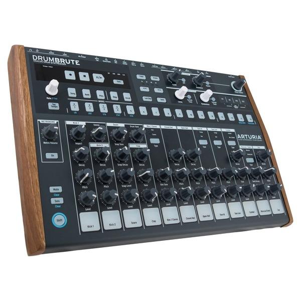 arturia drumbrute usb midi analog drum machine synthesizer synth 17 drum sounds 3760033530994 ebay. Black Bedroom Furniture Sets. Home Design Ideas