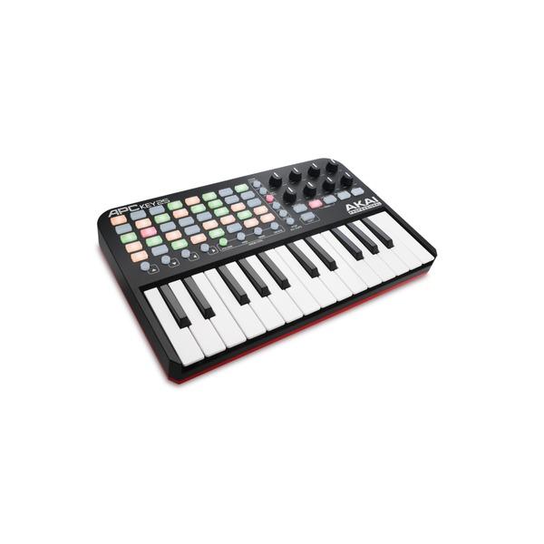 akai apc key 25 ableton live control surface keyboard usb midi controller 694318015933