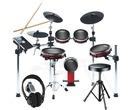 Alesis Crimson Mesh Kit with Drum Stool & Headphones
