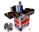 Gorilla Tool Box Trolley Carry Case (Union Jack)