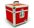"Gorilla GC-LP100 RED LP100 12"" Vinyl Record Box"