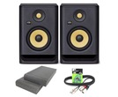 KRK Rokit RP5 G4 (Pair) with Isolation Pads & Cable