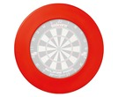 Winmau Plain Dartboard Surround Red