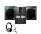 Rane TWELVE MKII (x2) + Pioneer DJM-S11 SE with Headphones + Cable