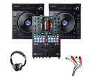 Denon LC6000 (Pair) + Rane Seventy-Two MKII with Headphones + Cable