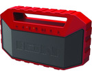 Ion Plunge Red Waterproof Boom Box