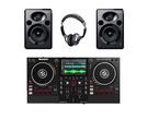 Numark Mixstream Pro + Alesis Elevate 5 MKII + Headphones