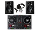 Numark Party Mix II + M-Audio BX4 (Pair) with headphones + Cable