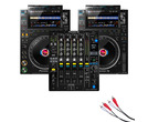 Pioneer CDJ-3000 (x2) + DJM-900 NXS2 w/Cable