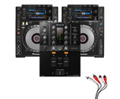 Pioneer CDJ900 Nexus & DJM-250MK2 Package