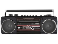 QTX Ace Retro Radio Cassette Player with Bluetooth & MP3