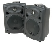 QTX Sound QR5B Stereo Speakers Black PAIR