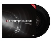 Native Instruments Traktor Scratch Pro Control Vinyl MK1 Black