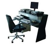Sefour X60 Studio DJ Console Black XR600-901