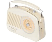 Steepletone 50's Style Brighton Radio Creme/Beige