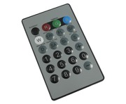 LEDJ I.R. Remote For LEDJ Quad Colour Fixtures