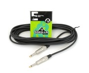 Gorilla Essential Cable 6m Mono Jack To Mono Jack Instrument Lead