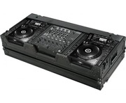 "Total Impact Coffin Flight Case For CDJ2000 & 12.5"" Mixer (Stealth Series)"