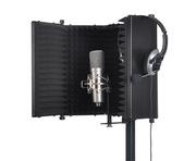 SoundLab Studio Microphone Reflexion Screen Black